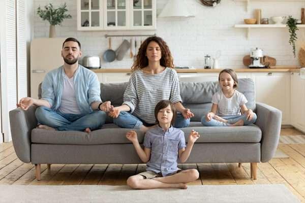 Famille rassurée
