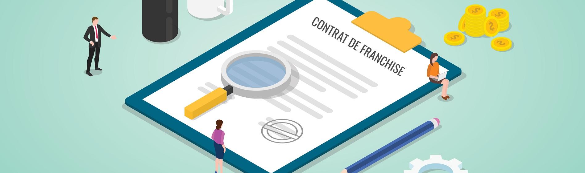 Comment bien lire mon contrat de franchise? [Infographie]